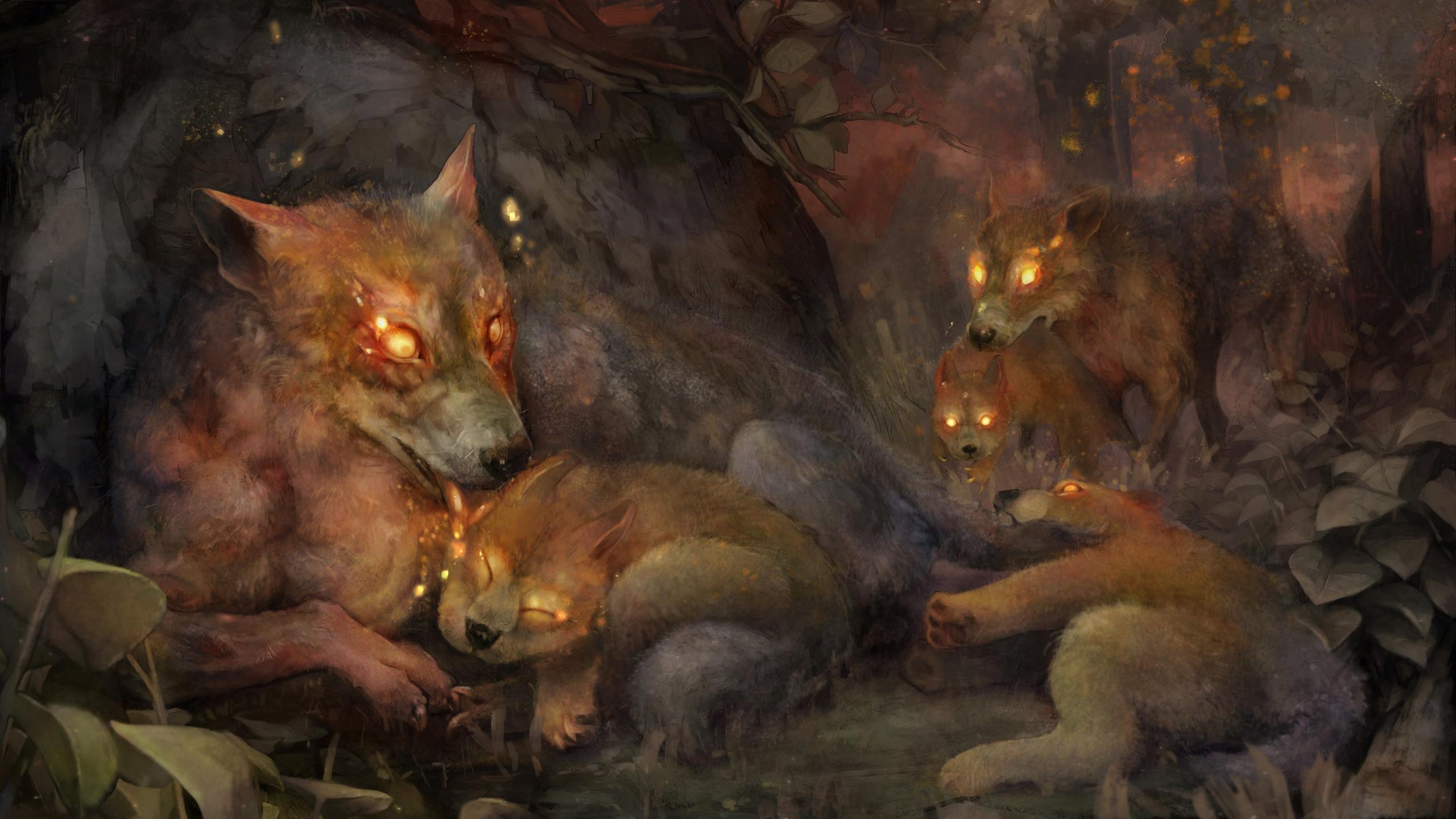 Hellhounds (art)