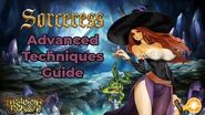 Dragon's Crown Sorceress Guide - Advanced Techniques