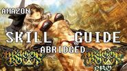 Dragon's Crown Skill Guide Abridged for Amazon