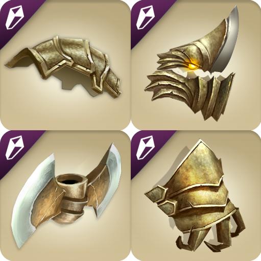 dragons of atlantis gold armor ark