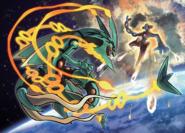 Rayquaza vs Deoxys