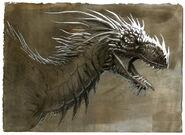 Old dragon image