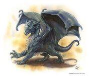 Silver Dragon wyrmling