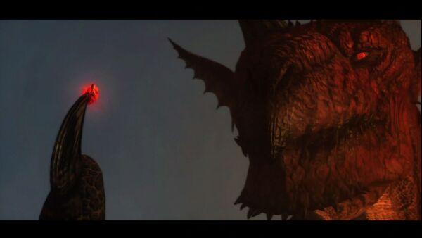 El Dragón toma el corazón de su elegido.