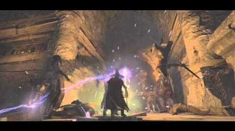 Dragon's Dogma Dark Arisen - Sorcerer Gameplay