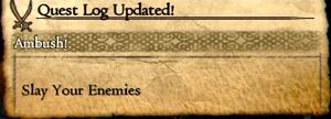 ¡Marca de que una misión de asalto ha comenzado!