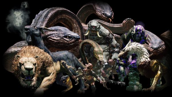 Los monstruos de Dragon's Dogma