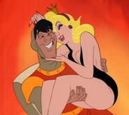 Princess Daphne with Dirk
