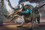 P-chromo dragon