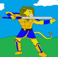 Murphy Dragonstar (battle stance)