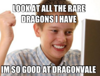 First Day on DragonVale