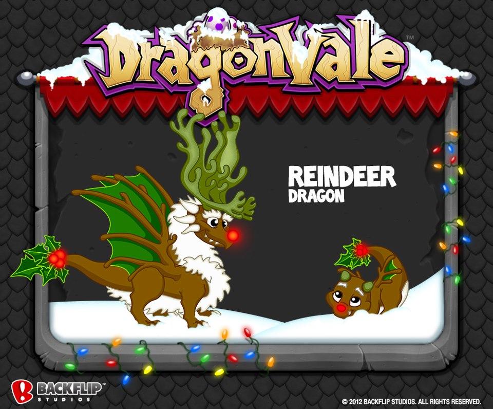 Reindeer Dragon