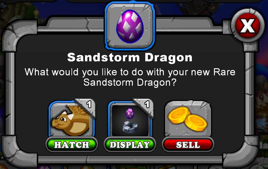 Sandstorm Dragon