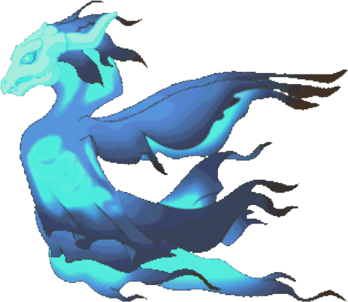 Ghostly Spectre Dragon