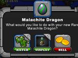 Malachite Dragon
