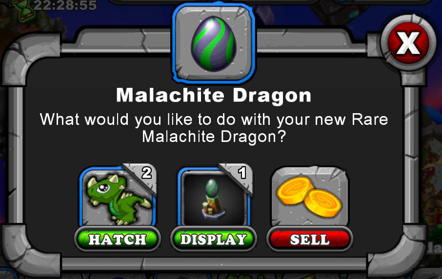 Malachite Dragon