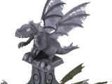 Fire Dragon Statue