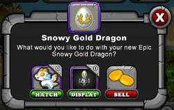 Dragonvale how to breed a snowy gold dragon drama desk awards 2005 golden dragon