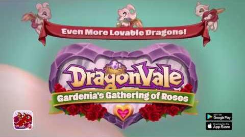 DragonVale Gardenia's Gathering of Roses 2018 Cinematic