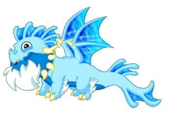 Icy Torrent Dragon