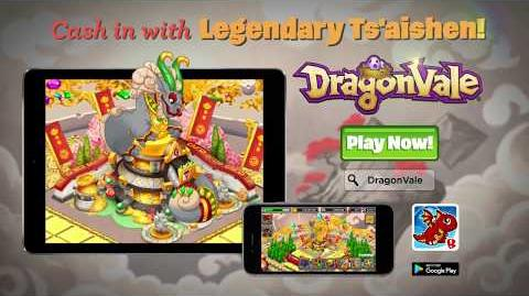 Art of DragonVale Ts'aishen The Vault Dragon
