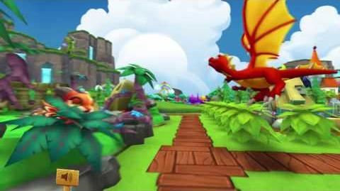 DragonVale World - Rock And Roll Dragons