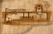 Burggewölbe Wohnbereich
