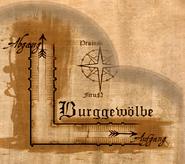 Burggewölbe Treppe