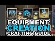 Equipment Creation Crafting guide - Drakensang Online