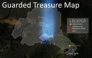 Guarded Treasure Map