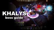 KHALYS Boss guide for Drakensang Online