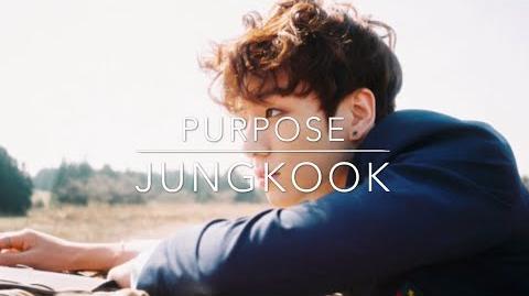 -LYRICS- BTS Jungkook - Purpose (Cover) (Lyric Video)