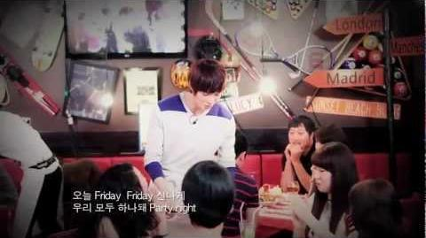 CNBLUE - Friday (T.G