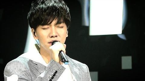 (Comeback Special) 이승기(Lee Seung Gi) - 그리고 안녕(And goodbye) @인기가요 Inkigayo 20150614