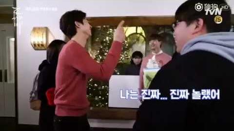 """【The Guardian EP 7 Behind the Scenes】Lee Dong Wook says """"I Love you"""" to Gong Yoo"""
