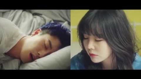 MV San E, 레이나 '한여름밤의 꿀(A midsummer night's sweetness)' Music video
