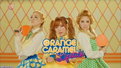 Orange Caramel - Lipstick (Japanese Version)