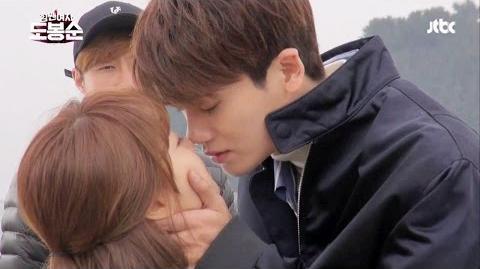 메이킹 박보영♥박형식, 로맨틱 첫 키스 (꿈은 이루어진다★) - parkboyoung,parkhyungsik