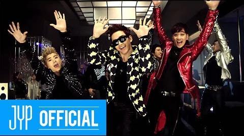 """2PM """"HANDS UP"""" M V"""