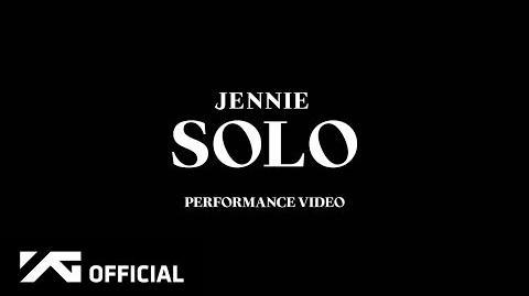 JENNIE - 'SOLO' PERFORMANCE VIDEO
