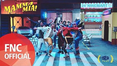 SF9 - MAMMA MIA MUSIC VIDEO