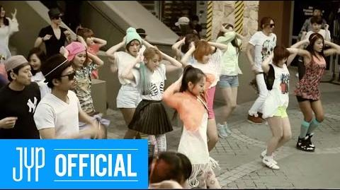 "Wonder Girls ""Like this"" M V"