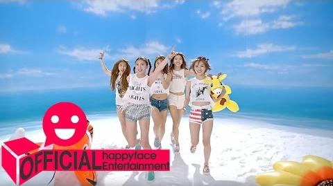 MV 밍스(MINX) Love Shake