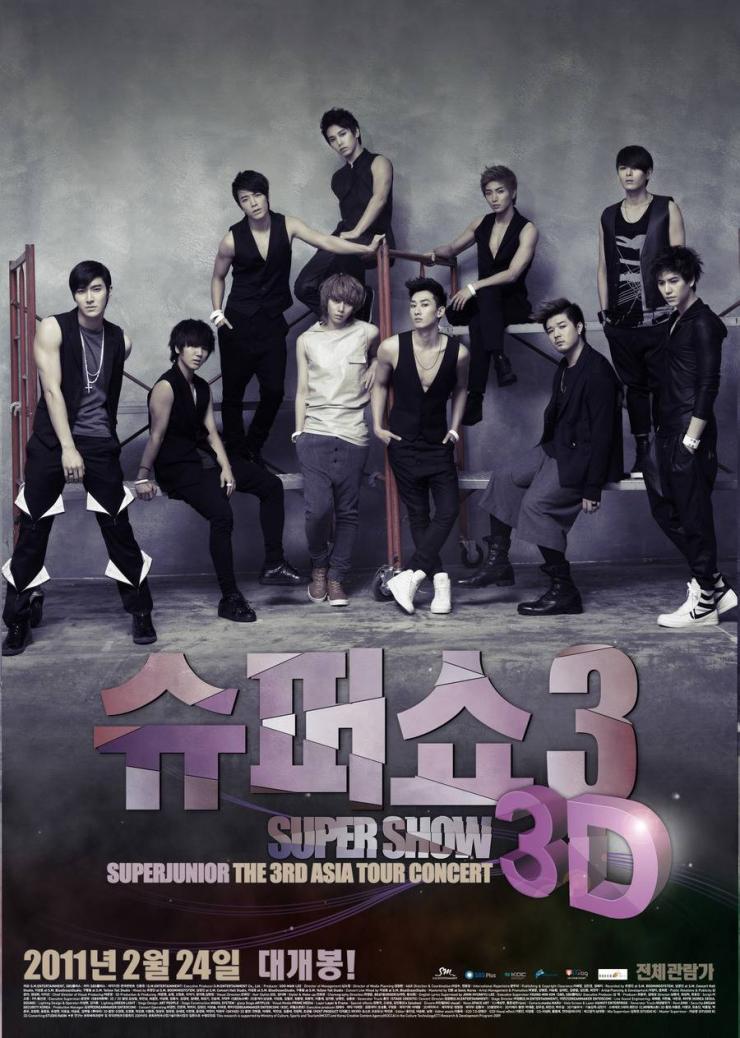 Super Show 3 3D