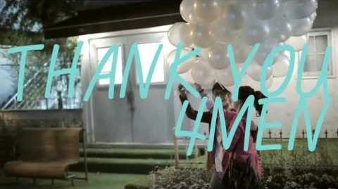 포맨(4MEN) 'Thank You' M V