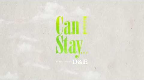 SUPER JUNIOR-D&E 4月25配信限定楽曲「Can I Stay..