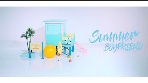 BOYFRIEND Mini Album 『Summer』MV