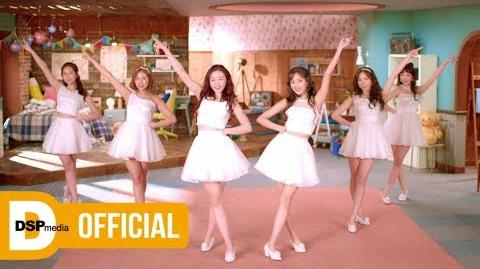 MV April Japan Debut Single Tinker Bell Music Video (Short Ver