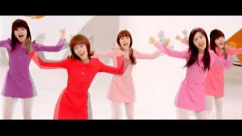 Girls' Generation 소녀시대 HaHaHaSong(하하하송) 하하하2009캠페인 MUSIC VIDEO
