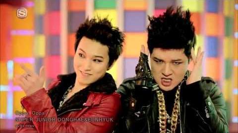 MV Eunhyuk & Donghae(Super Junior) - Oppa Oppa (Japanese ver)